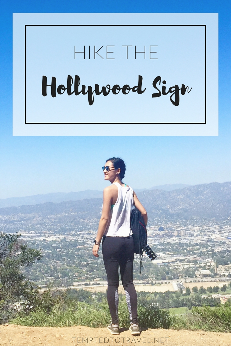 Hiking the Hollywood Sign!
