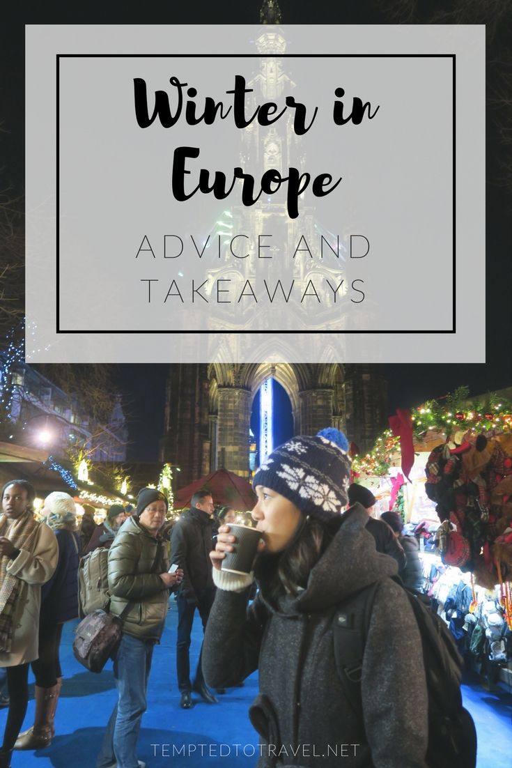 Winter in Europe: Advice and Takeaways