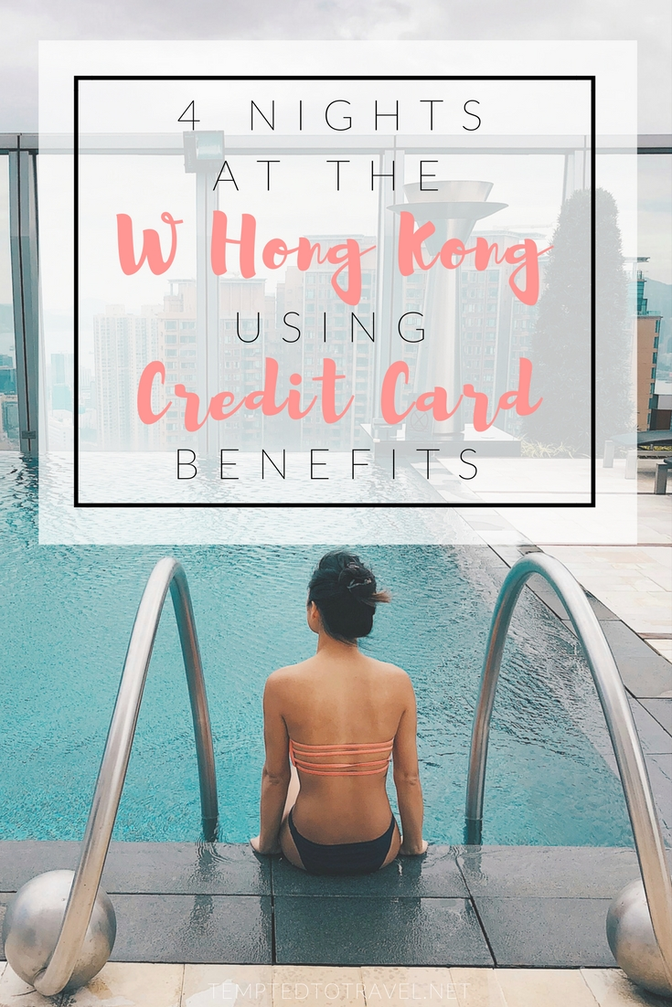 4 Nights at the W Hong Kong Using Credit Card Benefits