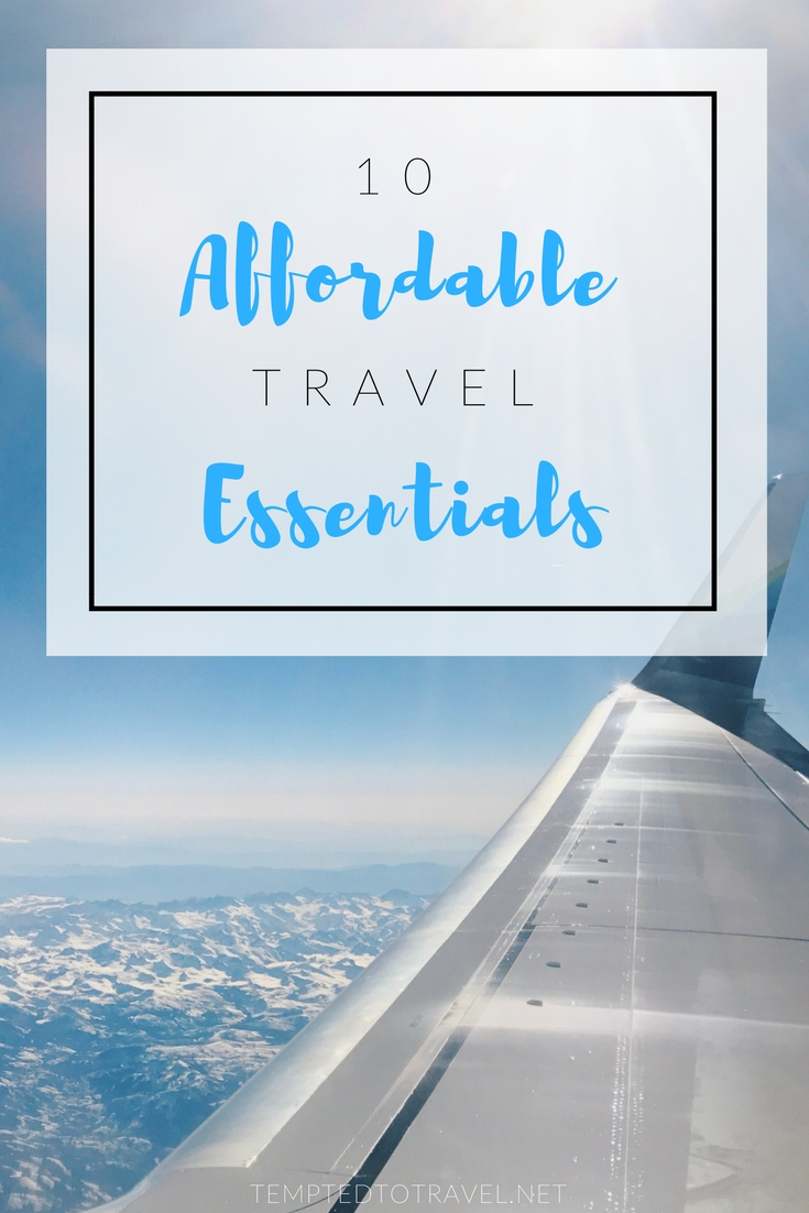 10 Affordable Travel Essentials